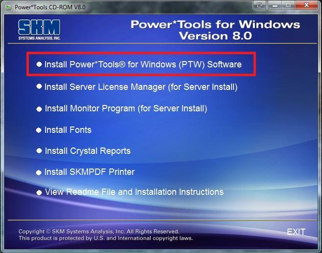 SKM Software Help Desk - Installation Instructions for Network (Red